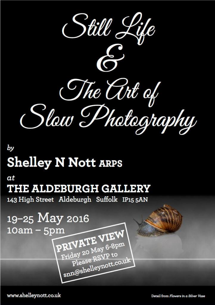 Exhibition private view invite