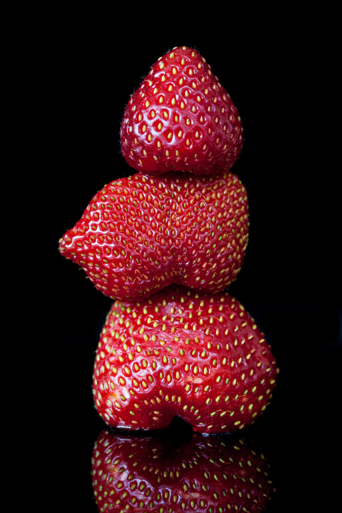 strawberry totem photograph