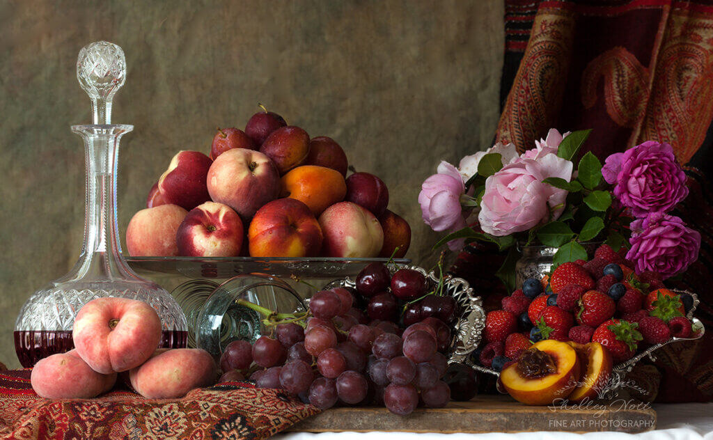 Still Life with Summer Fruits